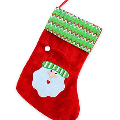 Uzun çorap Tatil Kumaş Cube Yenilikçi Noel Dekorasyon 6929094 2019