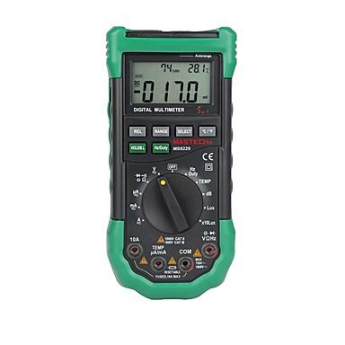 billige Elektriske instrumenter-mastech ms8229 digital multimeter 5 i 1 lydbelysningstemperatur fuktighetstester diagnostisk verktøy automatisk rekkevidde lcd bakgrunnsbelysning