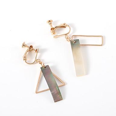 levne Dámské šperky-Dámské Náušnice - Klipsy Mix náušnic Retro styl Jednoduchý Evropský Módní Náušnice Šperky Zlatá Pro Ležérní Denní 1 Pair