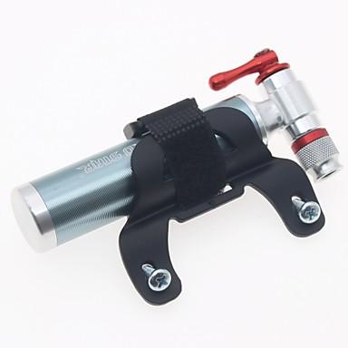 billige Sykkeltilbehør-Sykkel Pumper Multifunksjonell Bærbar Lettvekt Lettvektsmateriale Holdbar Til Vei Sykkel Fjellsykkel Foldesykkel Sykkel med fast gir Sykling Aluminium Titan
