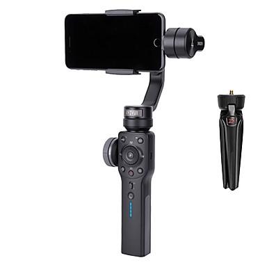 ZHIYUN चिकना 4 3-Axis हैंडहेल्ड जिम्बल पोर्टेबल स्टेबलाइज़र कैमरा स्मार्टफोन आईफोन एक्शन कैमरा के लिए माउंट
