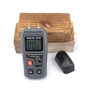 levne Testovací, měřící a kontrolní vybavení-bavlna emt01 dva kolíky digitální měřič vlhkosti dřeva 0-99.9% tester vlhkosti dřeva dřevěný detektor vlhkosti s velkým LCD displejem
