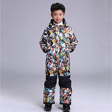 84bd305d75a GSOU SNOW Boys  Ski Jacket with Pants Waterproof Windproof Warm Ski   Snowboard  Winter Sports POLY Clothing Suit Ski Wear 6930899 2019 –  129.99