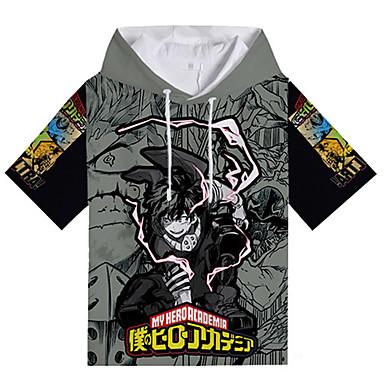 Moj heroj Akademija Battle For All / Boku nema heroja Academia Midoriya Izuku T-majica Poly / Cotton Za Uniseks
