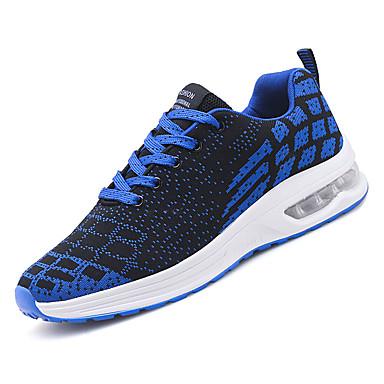 afae0ea5a4f Ανδρικά Παπούτσια άνεσης Δίχτυ / Ελαστικό ύφασμα Φθινόπωρο Αθλητικό  Αθλητικά Παπούτσια Τρέξιμο Μη ολίσθηση Συνδυασμός Χρωμάτων Πορτοκαλί / Μπλε  / Μαύρο ...
