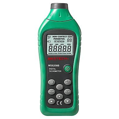 levne Testovací, měřící a kontrolní vybavení-mastech ms6208b lcd digitální laser foto otáčkoměr rpm metr bezkontaktní tacometro otáčky 50rpm-99999rpm