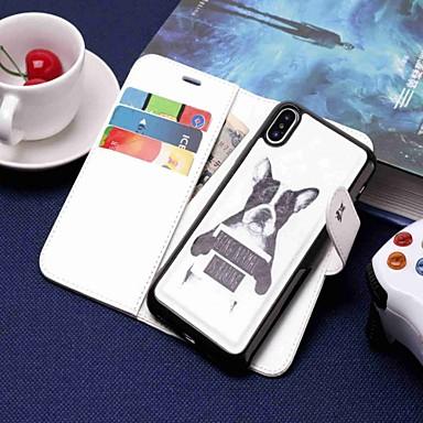povoljno iPhone maske-Θήκη Za Apple iPhone XS / iPhone XR / iPhone XS Max Novčanik / Utor za kartice / sa stalkom Korice Pas Tvrdo PU koža
