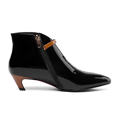 65fd45919d295 ... Ankle Satin Flower Black. Women S Bootie Na Leather Fall Boots Low Heel  Pointed Toe Booties