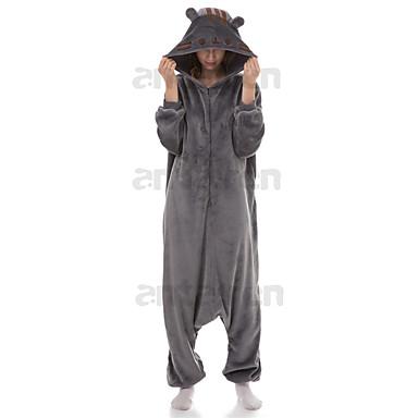 8f8cd98dd4 Adults  Kigurumi Pajamas Pusheen Onesie Pajamas Polar Fleece Gray Cosplay  For Unisex Animal Sleepwear Cartoon Halloween Festival   Holiday 6926847  2019 – ...