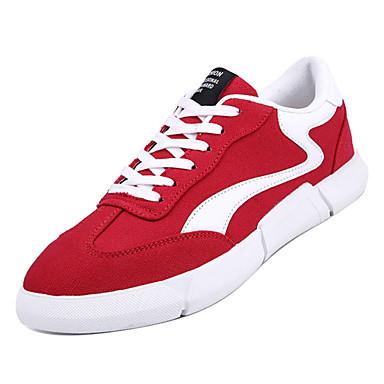 e3ddf6264 رجالي أحذية الراحة PU الخريف أحذية رياضية أسود / رمادي / أحمر 6932961 2019  – $17.49