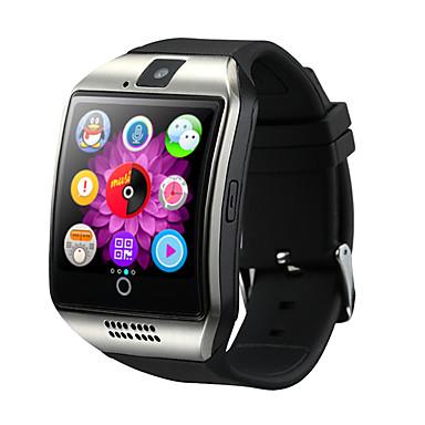 olcso Sportos óra-Férfi Sportos óra Intelligens Watch digitális karóra Digitális Alkalmi Bluetooth Szilikon Fekete / Fehér / Barna Digitális - Fehér Fekete Arany / Naptár / Kronográf / LCD / sebességmérő