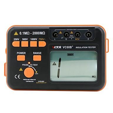levne Testovací, měřící a kontrolní vybavení-VICTOR Tester kapacitní odolnosti 2000 Měření