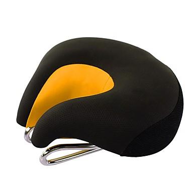 povoljno Dijelovi za bicikl-Sjedalo Izuzetno široka Udobne Jastuk PU koža silika gel Biciklizam Cestovni bicikl Mountain Bike Crn žuta