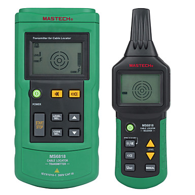 cheap Test, Measure & Inspection Equipment-MASTECH MS6818 advanced wire tester tracker multi-function Cable detector 12~400V Pipe Locator Meter pressure transmitter