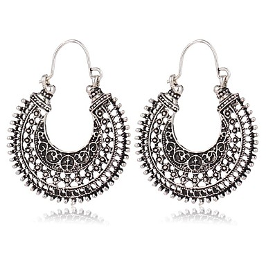 povoljno Modne naušnice-Žene Viseće naušnice dame Naušnice Jewelry Pink Za Spoj Festival 1 par