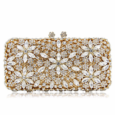 ffa21c3d99 Γυναικεία Τσάντες Κράμα Βραδινή τσάντα Κρυστάλλινη λεπτομέρεια   Με Τρύπες  Συμπαγές Χρώμα Χρυσό   Ασημί 6949852 2019 –  79.99