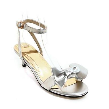 b1afff271 Mujer Zapatos Confort Microfibra Verano Sandalias Tacón Bajo Dorado    Plateado   Rosa 6952443 2019 –  22.99