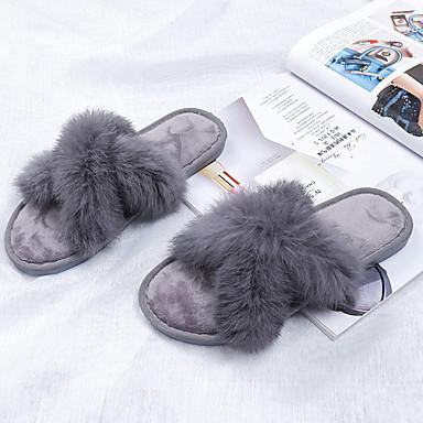 3041acbf6562 Ženske papuče Kuća Papuče Ležerne prilike Baršun Mašna Cipele iz 6970505  2019 . –  15.39