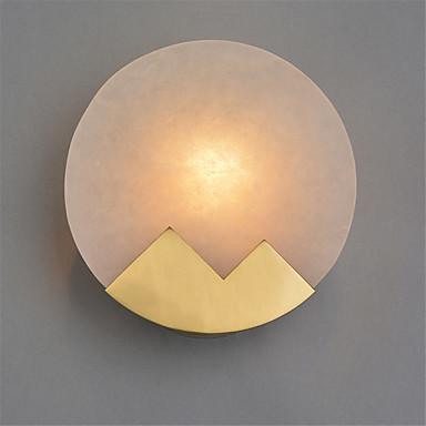 sjeverna europska moderna galvanizirana metalna stijena mramor mramor mini zidna svjetiljka dnevni boravak blagovaonica cafe e12 / e14 osnovica žarulje