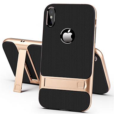 povoljno iPhone maske-Θήκη Za Apple iPhone XS / iPhone XR / iPhone XS Max sa stalkom Stražnja maska Jednobojni Tvrdo PC