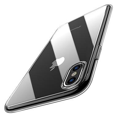preiswerte Bis zu 0,99 $-Hülle Für Apple iPhone XS / iPhone XR / iPhone XS Max Ultra dünn / Transparent Rückseite Solide Weich TPU