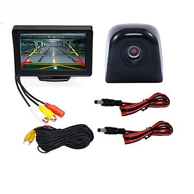 levne Auto Elektronika-BYNCG WG4.3T-4LED 4.3 inch TFT-LCD 480TVL 480p 1/4 palce, barvy CMOS Kabel 120 stupňů 1 pcs 120 ° 4.3 inch Kamera pro zpětný pohled / Monitor pro zpětný chod vozu / Souprava pro zadní pohled do auta