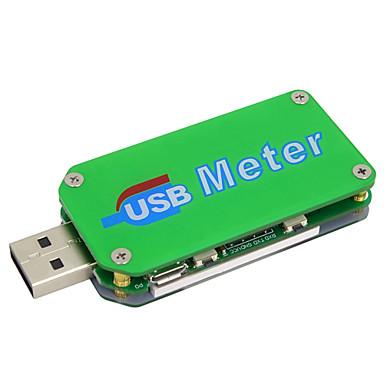 billige Elektriske instrumenter-um24c usb 2.0 farge lcd display tester spenning nåværende meter voltmeter amperimetro batteriladning måle kabel motstand med bluetooth