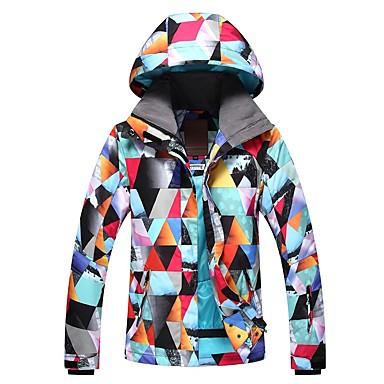 e942628e1f GSOU SNOW Women s Ski Jacket Ski Skiing Winter Sports Winter Sports POLY  Top Ski Wear 6958822 2019 –  109.99