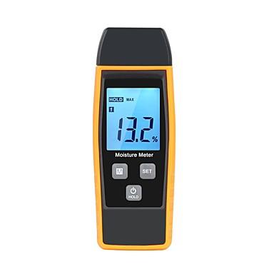 levne Testovací, měřící a kontrolní vybavení-rz profesionální dřevo vlhkost vlhkoměr digitální tester 0% ~ 80% dva kolíky velký LCD displej s podsvícením teploty rz660 \ t