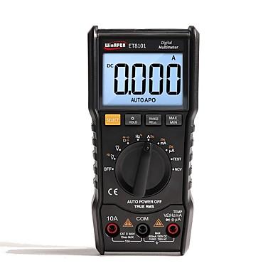levne Testovací, měřící a kontrolní vybavení-et8101 digitální multimetr 3 5/6 ac dc 6000 true rms digitální voltmetr 1000v 10a mini kapesní multimetr