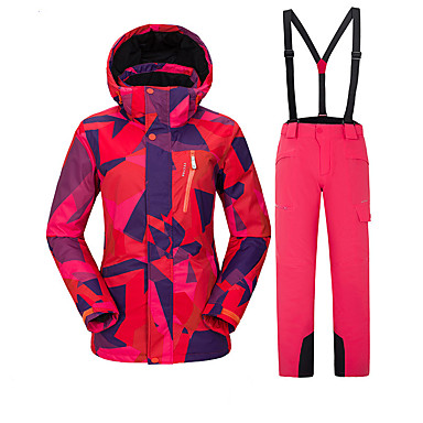607ebafbe7 Vector Women s Ski Jacket with Pants Windproof Warm Ski Skiing Camping   Hiking  Snowboarding POLY Pants   Trousers Bib Pants Top Ski Wear   Winter 6982433  ...