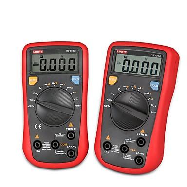 voordelige Test-, meet- & inspectieapparatuur-uni-t ut136-serie digitale multimeter 4000 telt mini automatisch bereikende handheld multimetro ac / dc stroomspanningsweerstandstesters