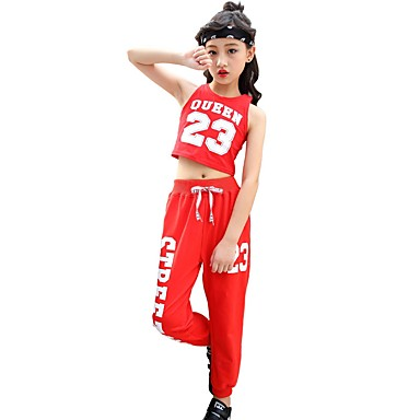 951ed55fe642 Jazz Outfits Girls  Performance Spandex Ruching Sleeveless Dropped ...
