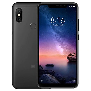 Xiaomi Redmi note6 pro Global Version 4GB + 64GB