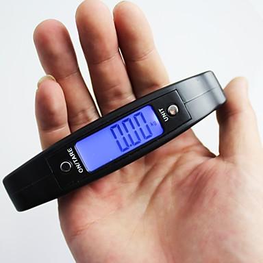 levne Testovací, měřící a kontrolní vybavení-cx-a09 přenosné 50kg / 10g digitální elektronické závěsné váhy lcd display display zavazadlové váhy váhy vak na poštu ely weight hmotnost vak na poštu.