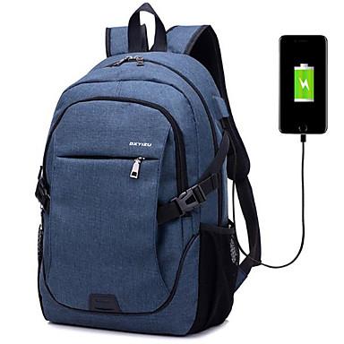 preiswerte Laptoptaschen-Leinen Reißverschluss Laptop Tasche Alltag Dunkelblau / Grau / Purpur / Herrn