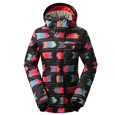 7d1380584c GSOU SNOW Women s Ski Jacket Ski Skiing Winter Sports Winter Sports POLY  Top Ski Wear 6958799 2019 –  109.99