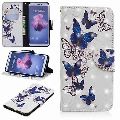 Θήκη Za Huawei Huawei P20 / Huawei P20 Pro / Huawei P20 lite Novčanik / Utor za kartice / sa stalkom Korice Rukav leptir Tvrdo PU koža / P10 Lite