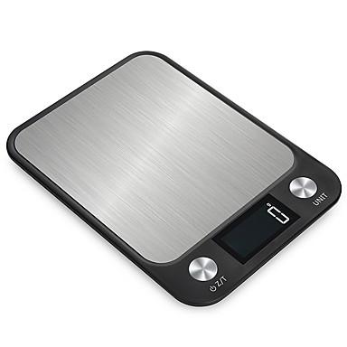 levne Testovací, měřící a kontrolní vybavení-x x cx-2018 10kg / 1g kuchyňské váhy elektronických vah pro přesné váhy gram digital gram cooking glass glass glass glass glass display lcd displej.