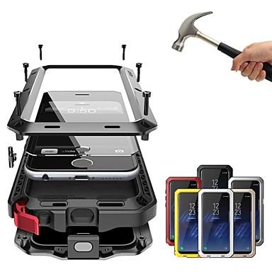 povoljno iPhone maske-Θήκη Za Apple iPhone XS / iPhone XR / iPhone XS Max Otporno na trešnju / Protiv prašine / Vodootpornost Korice Jednobojni Tvrdo Metal