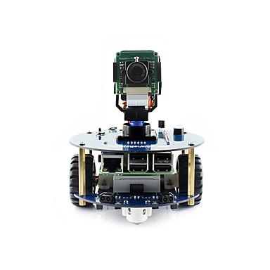 voordelige Elektrische apparatuur & benodigdheden-waveshare alphabot2-pi3 b + (en) alphabot2 robotbouwset voor raspberry pi 3 model b +