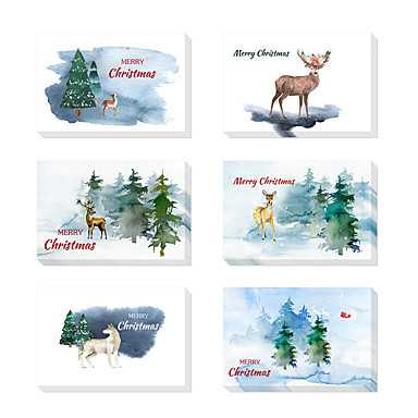 Thank You Cards Card Paper Wedding Decorations Christmas Party