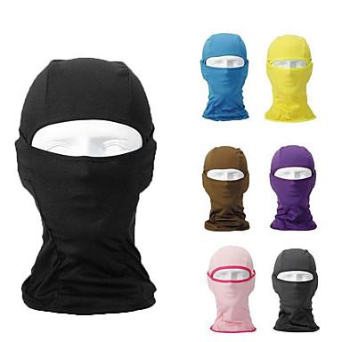 Lycra Balaclava Full Face Mask Windproof UNISEX Ski Neck Protection BLUE