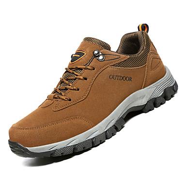 저렴한 Shoes Trends-남성용 구두 PU 가을 민첩 운동화 하이킹 운동용 용 그레이 / 브라운 / 아미 그린