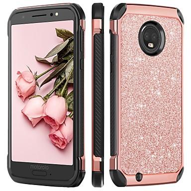 premium selection 80539 400e5 [$5.99] BENTOBEN Case For Motorola MOTO G6 Shockproof / Plating / Glitter  Shine Back Cover Glitter Shine Hard TPU / PC for MOTO G6