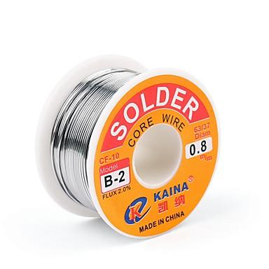 levne Páječka a příslušenství-vysoká kvalita 63/37 kalafunového jádrového pájecího drátu 2% cínového pájecího pájecího drátu svařovacího drátu 0,5mm 100g b-2