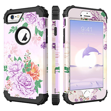 promo code 85437 64119 [$7.99] Case For Apple iPhone 6s / iPhone 6 Shockproof / Pattern Full Body  Cases Scenery / Fruit / Flower Hard Silicone / PC