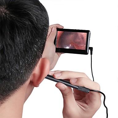 levne Mikroskopy a endoskopy-4.3 šetřit s vysokým rozlišením jasné světlo ucho nosu a krku čištění péče o ucho čištění uší endoskop endoskop