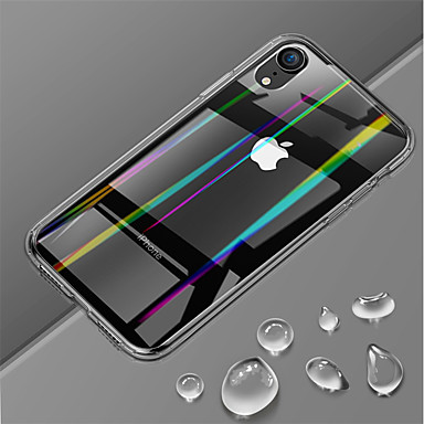 7a57ff0fca Case For Apple iPhone XR / iPhone XS Max Ultra-thin / Transparent Back Cover  Solid Colored Hard Tempered Glass for iPhone XS / iPhone XR / iPhone XS Max  ...
