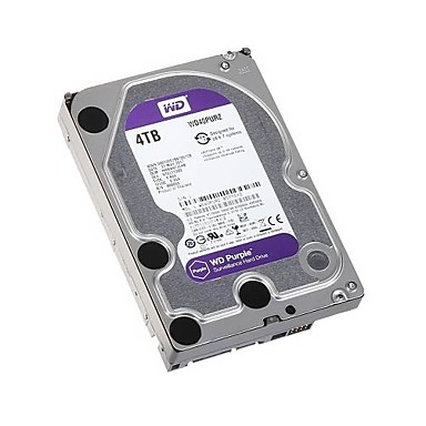 WD® hard drives WD40PURX,4T for Security Systems 14.7*10.2*2.6 cm 0.1 kg